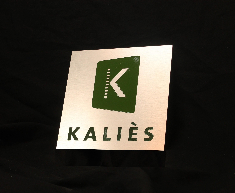 plaque-gravé libre Alliage d/'aluminium rectangulaire signe